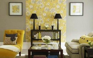 Combining Wallpaper and Paint In Your Home